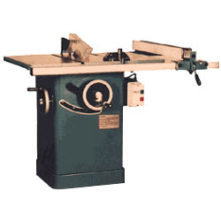 tilting arbor table saw