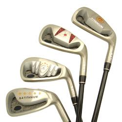 titanium golf club sets
