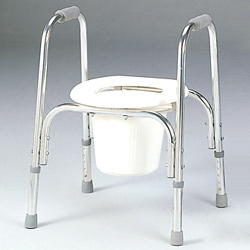 toilet assist commode chair
