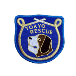 tokyo rescue embroidered patch