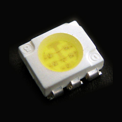 top view white chip led