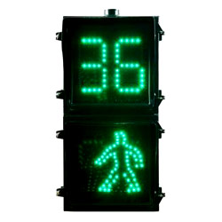 traffic signals- countdown plus walkman