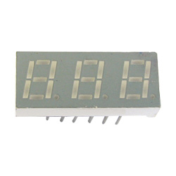 "0.28"" triple digit numeric displays"