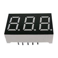 "0.36"" triple digit numeric displays"