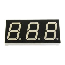 "0.52"" triple digit numeric displays"