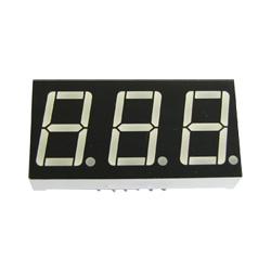 "0.56"" triple digit numeric displays"