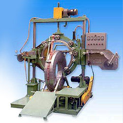truck bus tire wrapping machine