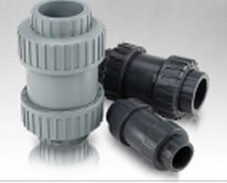 true union ball check valves