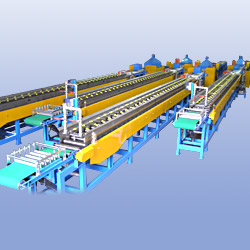 tube extrusion cooling line