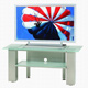 Metal Glasses Furniture TV Stands