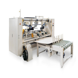 twin head semi auto stitcher