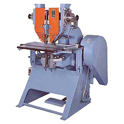 twin triple quadruple riveting machine