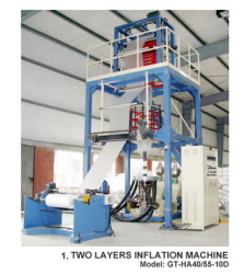 Two Layers Inflation Machines