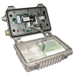 two passive outputs line extender amplifier