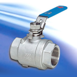 two piece economy ball valves