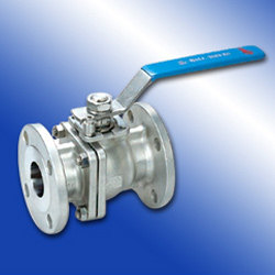 two-piece flange ball valves