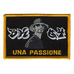 una passione embroidered patch