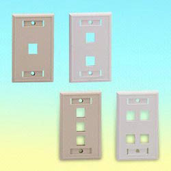 us type flush mounted wall plate