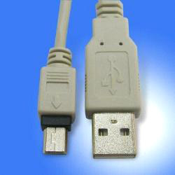 usb 2.0 a/m to mini usb 5 pin cable