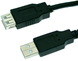 usb20 a type male to a type female cable