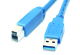 usb30 a type male to b type male cable
