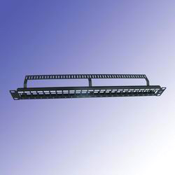 utp blank patch panels with back bar 24 port