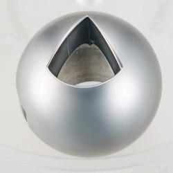 v type steel ball