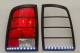 Vehicle LED Tail Bezels