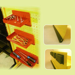 vertical magnetic parts tools tray