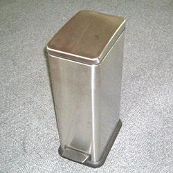 vertical oblong pedal bins