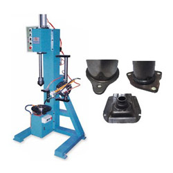 vertical type burning weld auto rotating table
