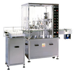 Vial Liquid Filling/Plugging/Cap Sealing Machines RLVC-60