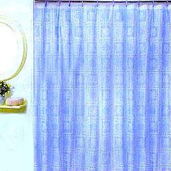 vinyl lace shower curtain