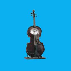 violin quartz alarm clocks