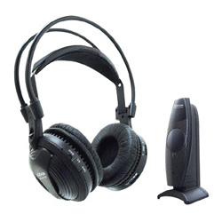 virtual 5.1 surround sound ir headphones