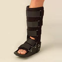 leg fracture walker