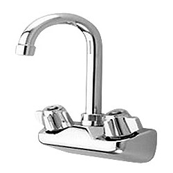 wall mount commercial faucet