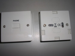 wall plate telephone filters