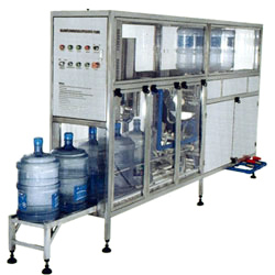 washing and filling and capping machine