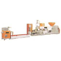 waste plastic reclamation & pellet regenerating machine