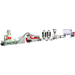 water ring cutting kneader extruding plant