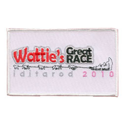 wattie great race embroidered patch