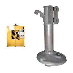 valve cap co2 dual gun circle welding machines