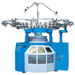 wellknit brand double knitting machine of q series