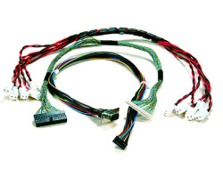 wire harness for automobile vehicle