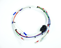 wire harness for dual flashhead