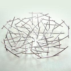 wire round fruit basket