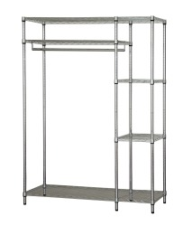 wire shelving wardrobes