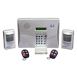 wireless security and home automation systems
