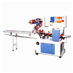 pillow type automatic wrapping machines